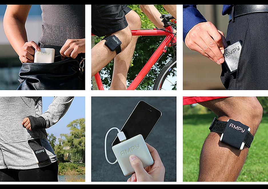 Generador AMPY, para cargar tus gadgets con tu ejercicio