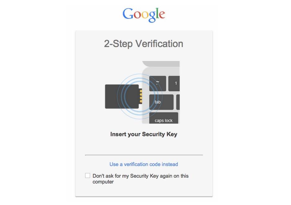 Verificacion de dos pasos de google