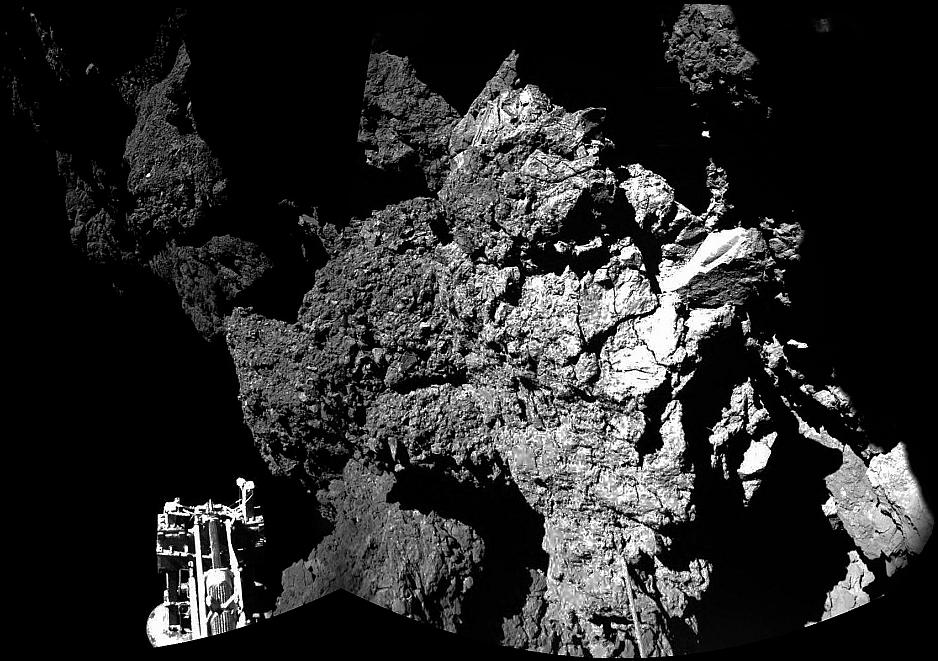 Aterrizaje del Philae en el cometa
