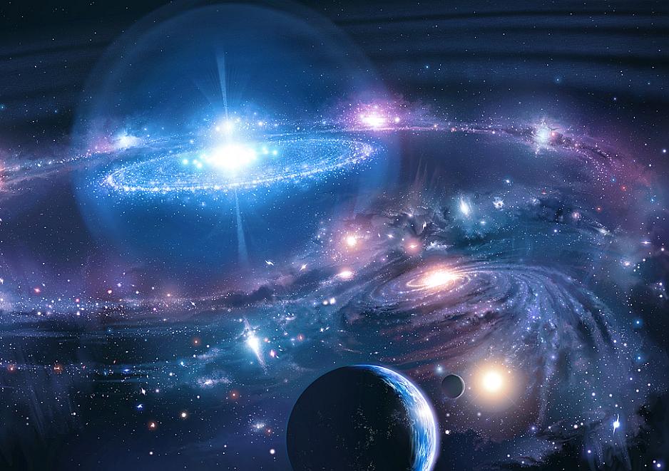 Concepto artistico El Universo