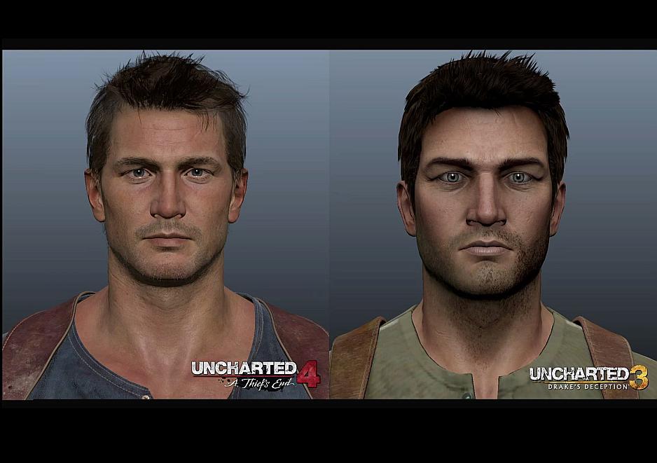 Calidad de Imagen de Uncharted 4 comparado con su predecesor