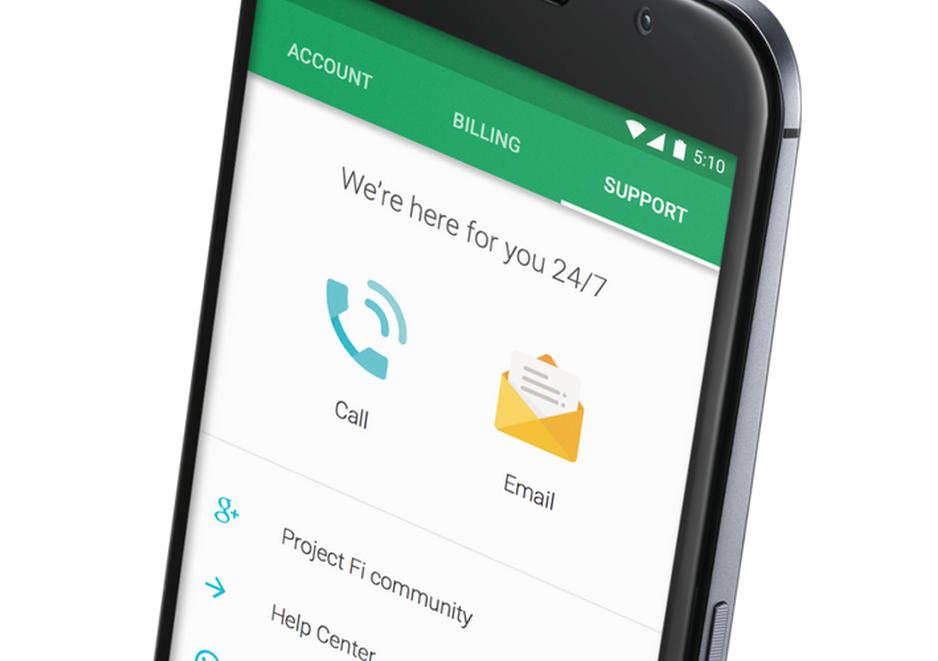 Google entra al mundo de la telefonía móvil con FI