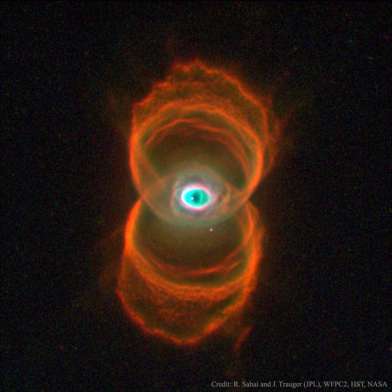 """MyCn18: la nebulosa planetaria del reloj de arena?"