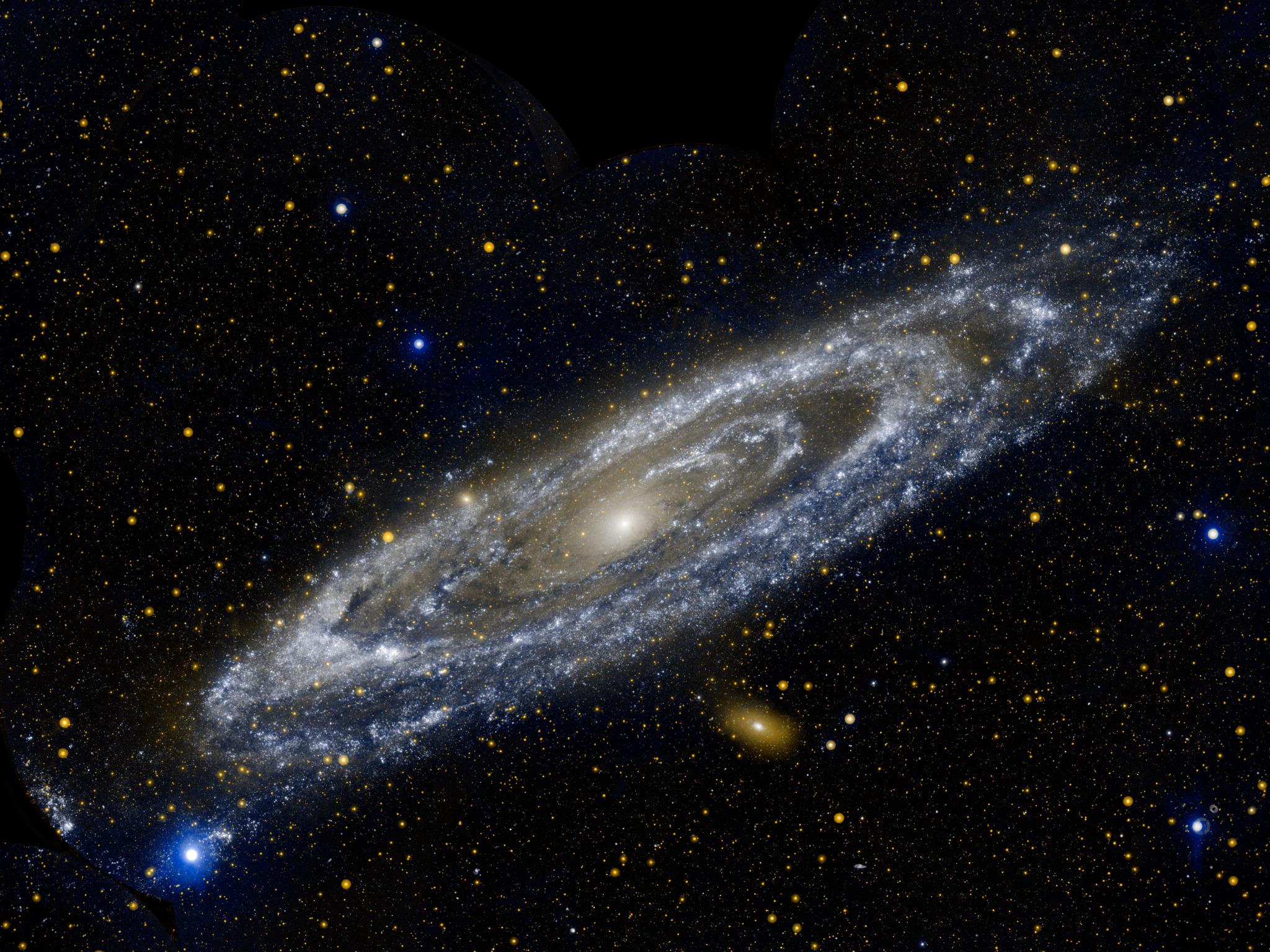 Los anillos de M31 en luz ultravioleta