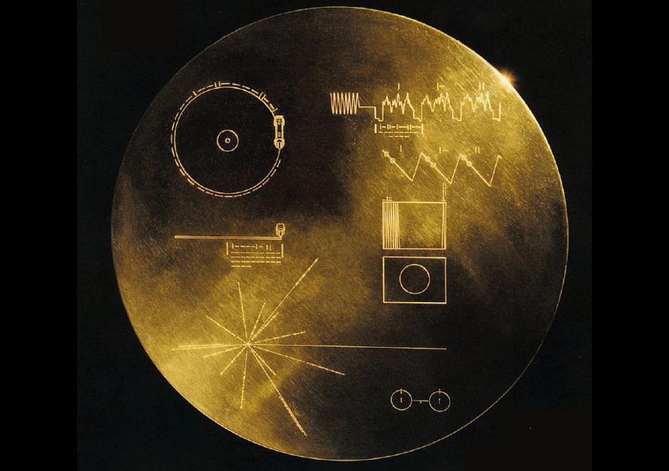 El Disco Dorado del Voyager ahora está en SoundCloud