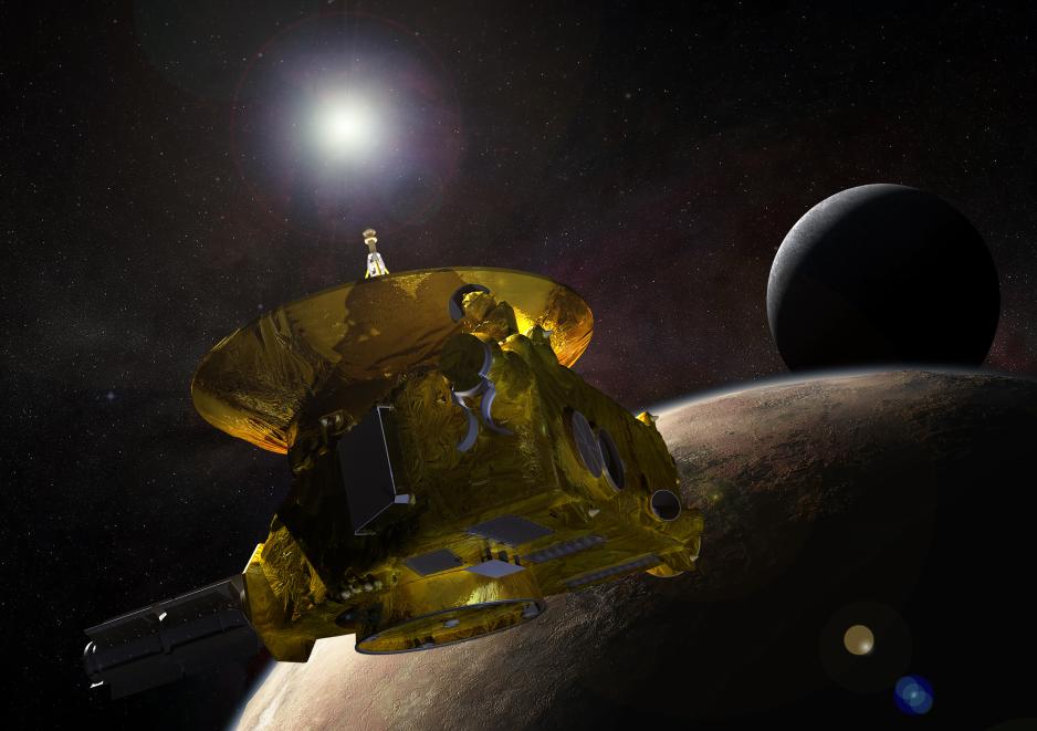 Eyes on Pluto, para que veas por los ojos de New Horizons