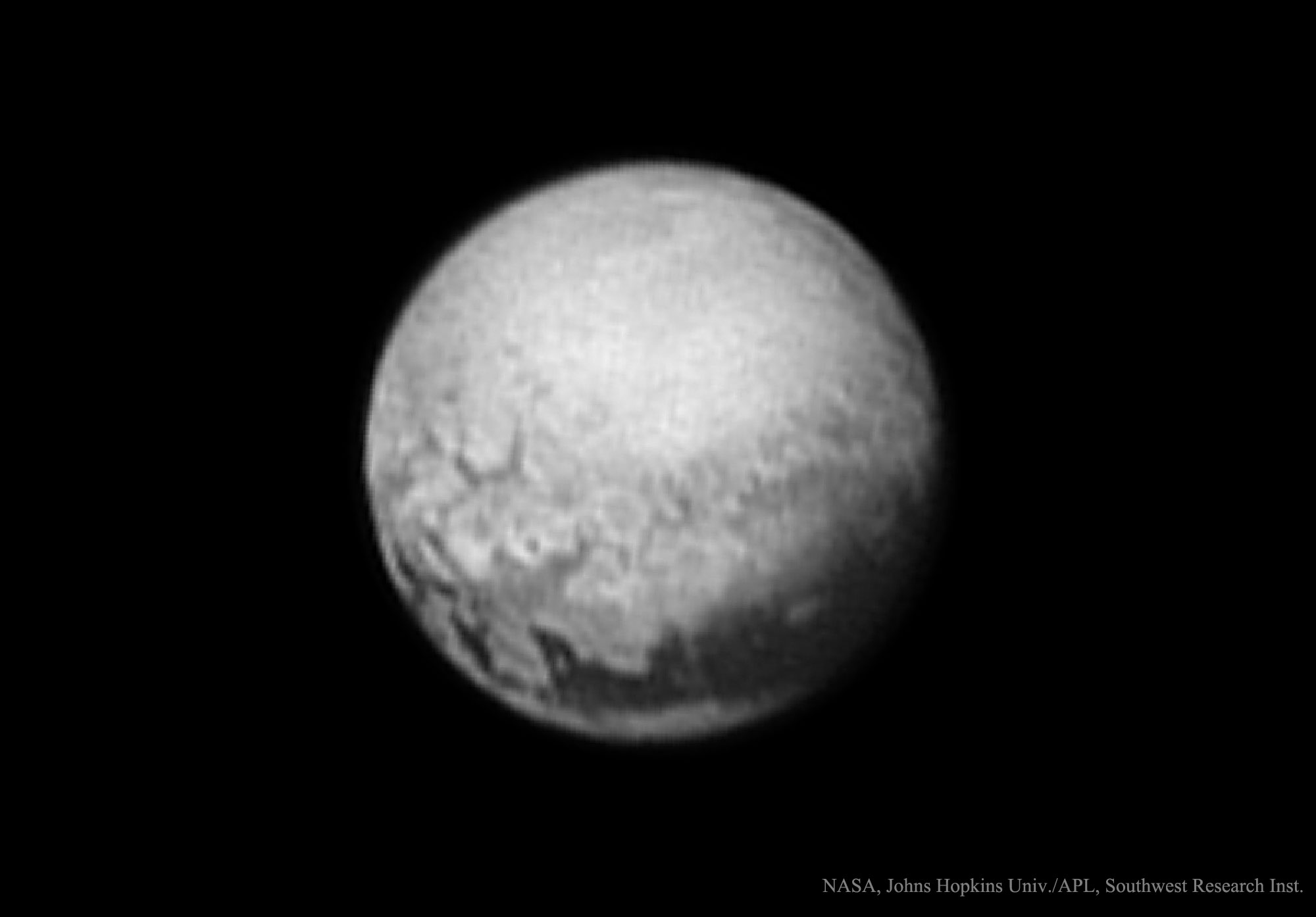 Geología de Plutón