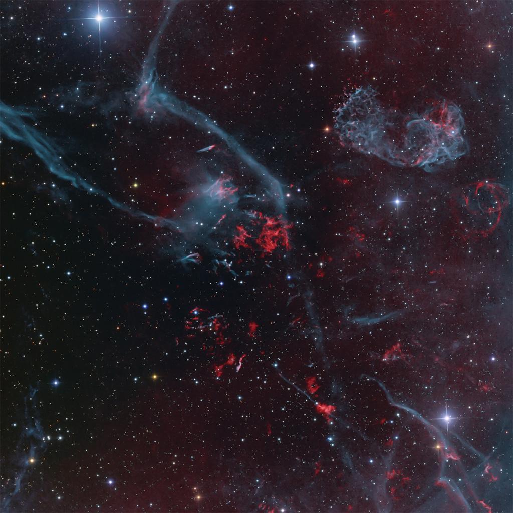 El remanente de supernova Puppis A