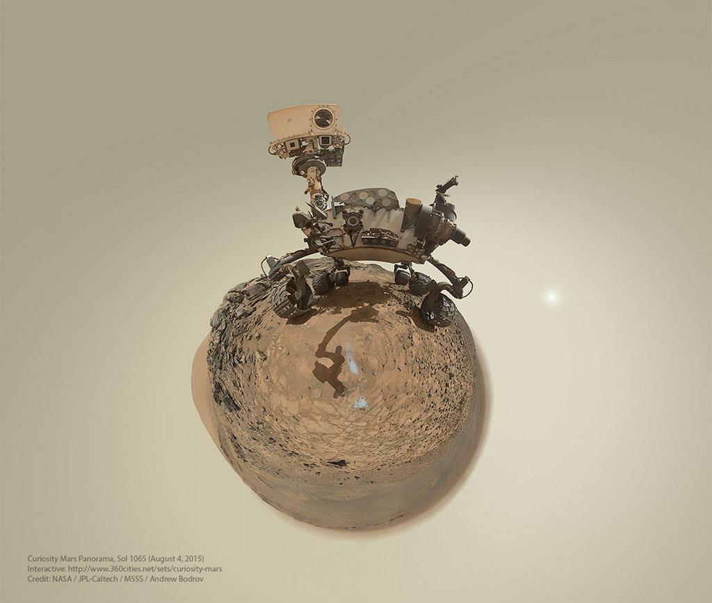 Pequeño planeta Curiosity
