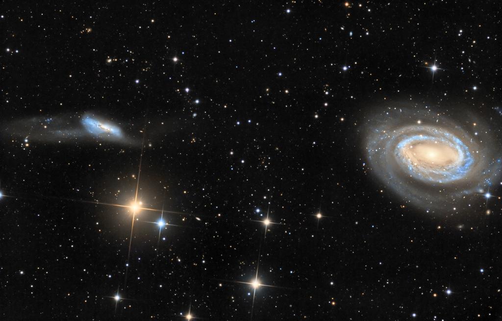 Arp 159 y NGC 4725