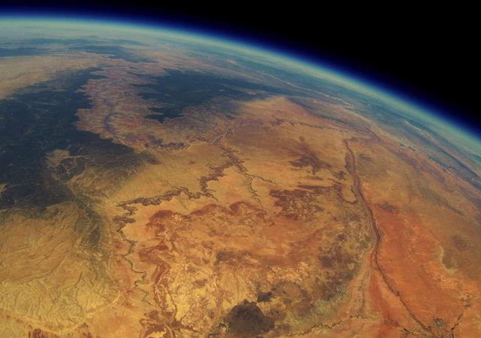 Sobrevolando el Gran Cañón en un globo aerostático