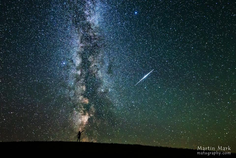 El fogonazo y la galaxia