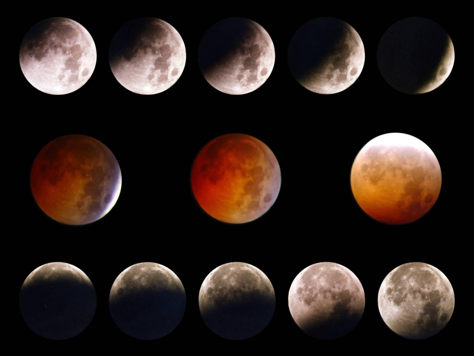 Esta noche, eclipse de súperluna