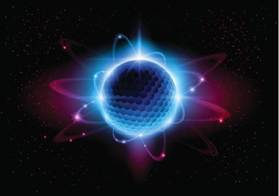 Descubren una partícula hecha únicamente de fuerza nuclear