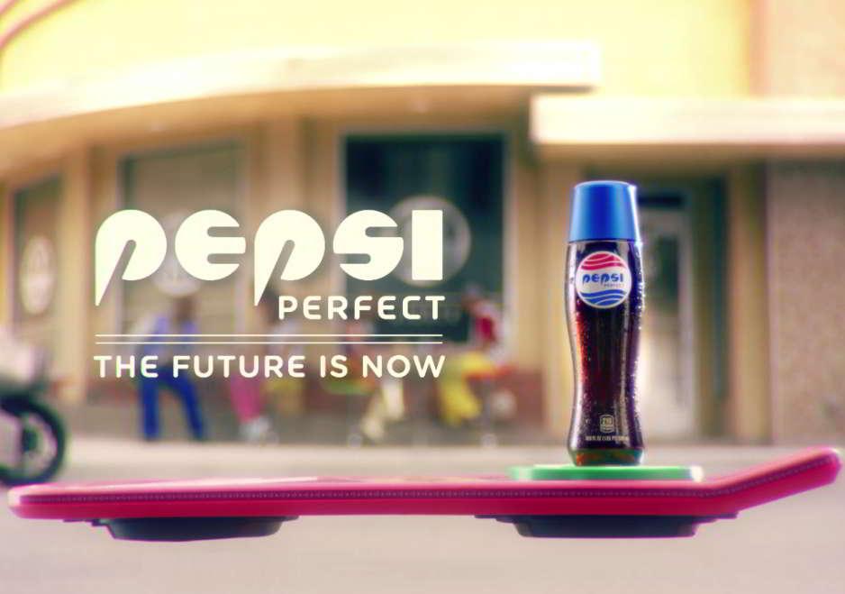 El futuro es ahora. Edición limitada de Pepsi Perfect