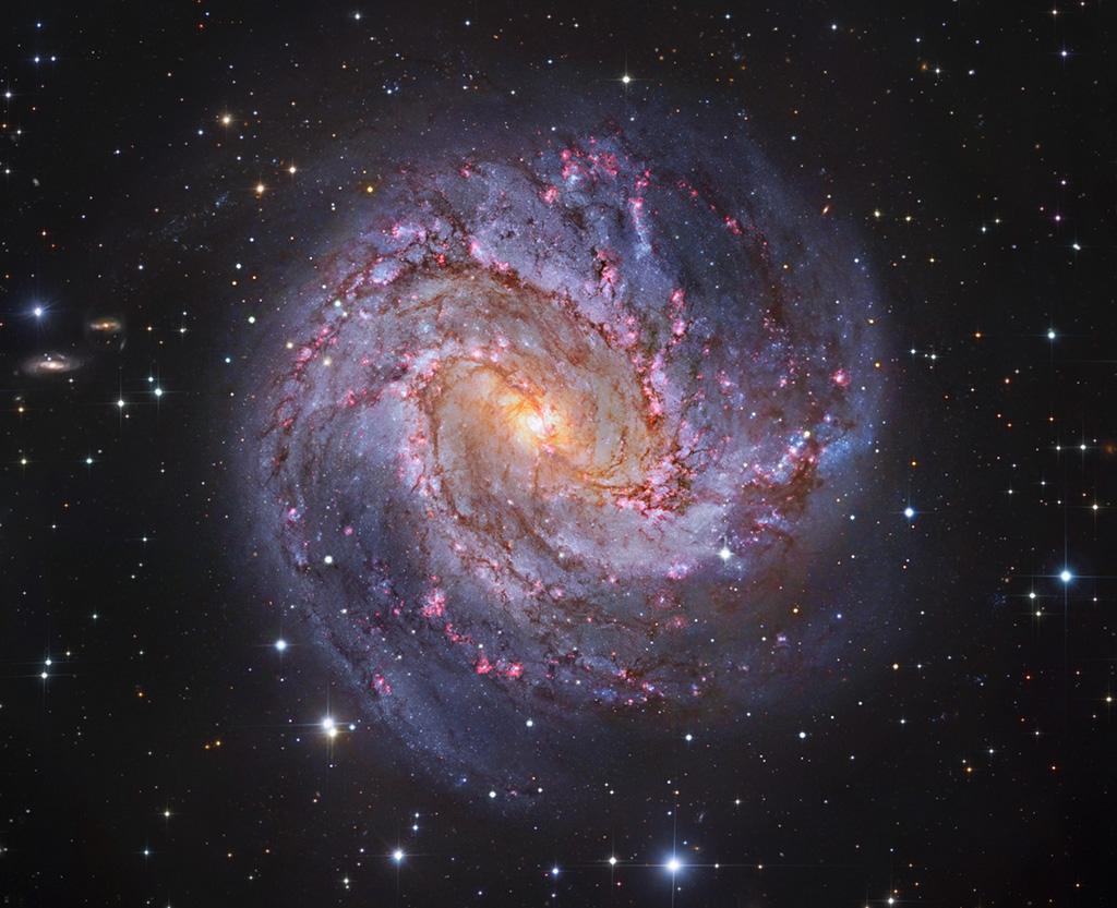M83: la galaxia de los Mil Rubíes