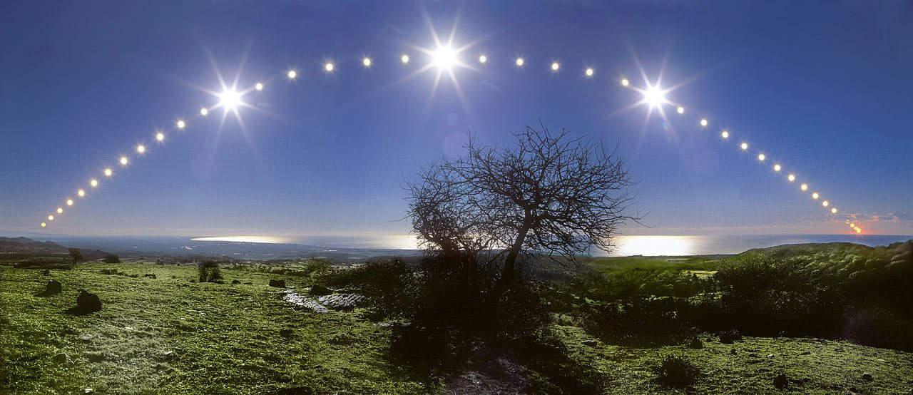 El solsticio ilustrado: un año del cielo
