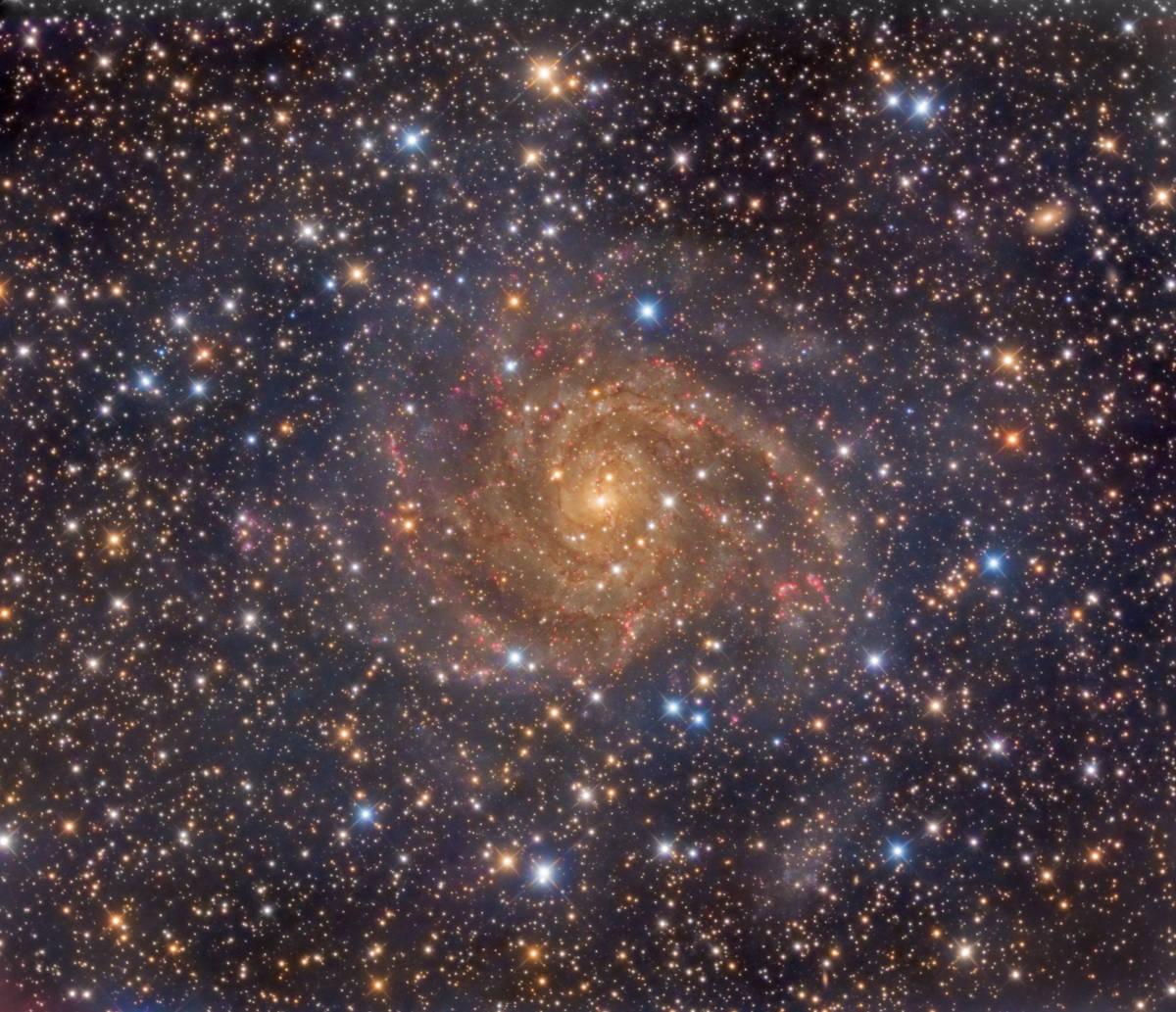 La galaxia escondida IC 342