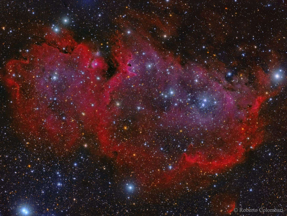IC 1848: la nebulosa del Alma