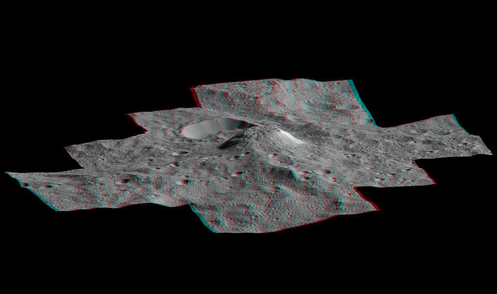 Ahun Mons en 3D