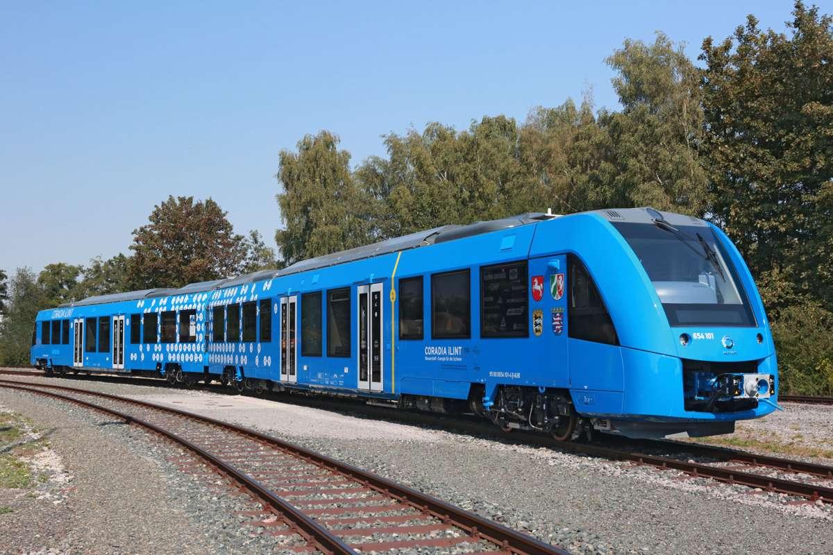 Conoce a Coradia iLint, el primer tren que funciona con hidrógeno