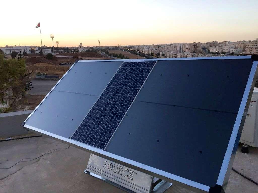 En lugar de generar electricidad, lo que hace este panel solar ¡Parece magia!