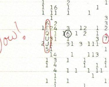 La señal que hace 40 años fue Wow! y hoy es una decepción.