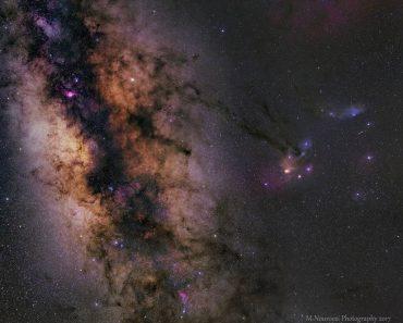 Saturno en la Vía Láctea