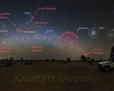 Un cielo de kalahari