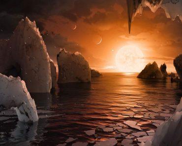 Observaciones sugieren existencia agua en TRAPPIST-1